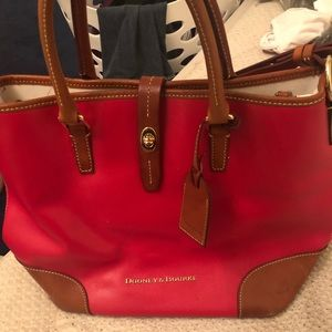 Dooney & Bourke purse leather